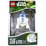 Лего брелок-фонарик 'R2-D2' с батарейкой