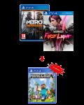 игра Metro Redux PS4 + Infamous: First Light PS4 + Minecraft PS4