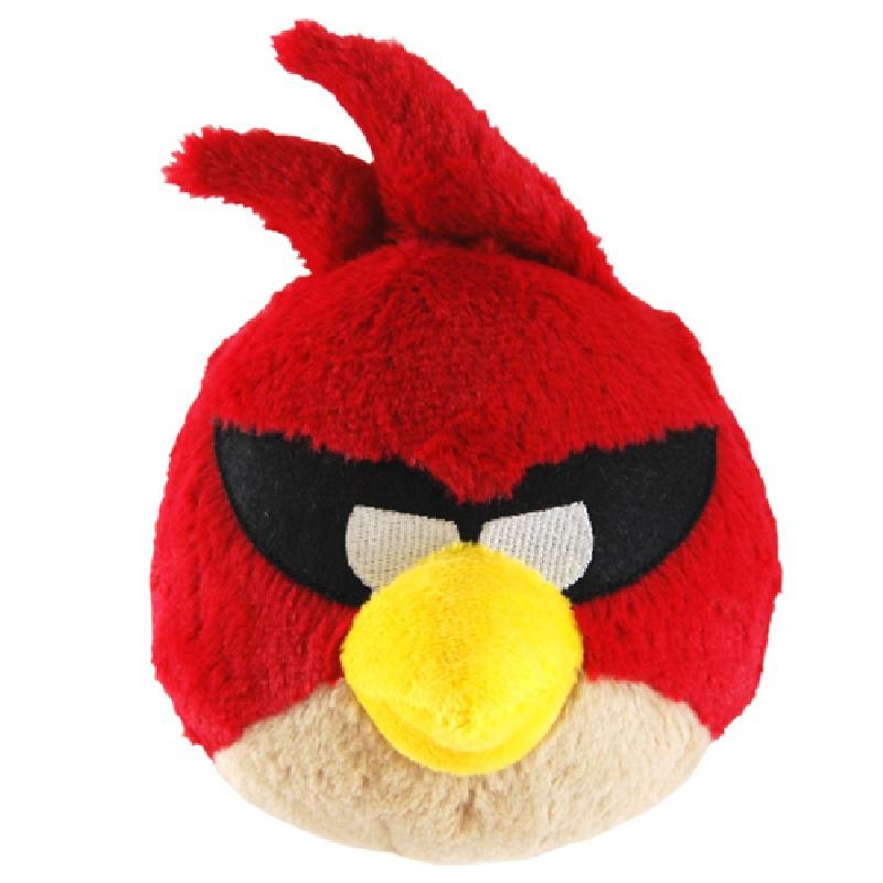 Мягкая игрушка Angry Birds Space (красная)