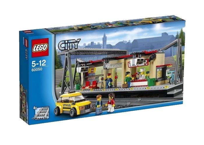 Конструктор LEGO Железнодорожная станция