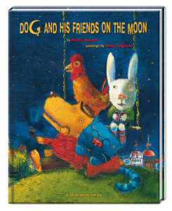 Книга Dog and his friends on the moon