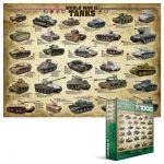 Пазл 'Танки 2-й Мировой войны'