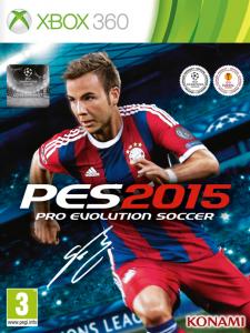 игра Pro Evolution Soccer 2015 XBOX 360