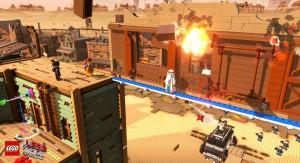 скриншот LEGO Movie Videogame PS4 #3