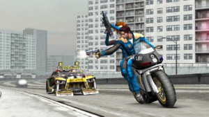 скриншот Pursuit Force Extreme Justice PSP #4