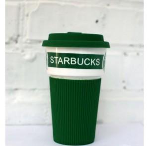 фото Чашка Starbucks Еco Life (зеленая) #5