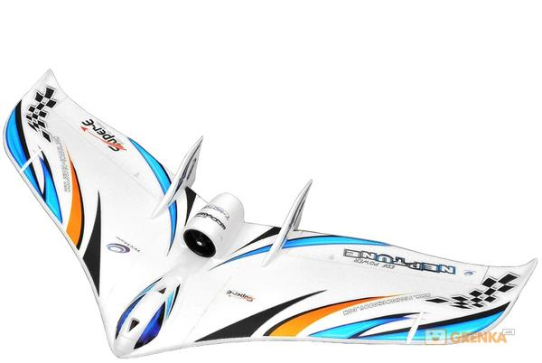 Купить Tech One Neptune EDF 1230мм EPO ARF Летающее крыло (синий)