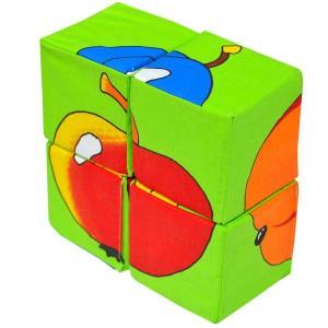 Набор кубиков. Собери картинку. Фрукты