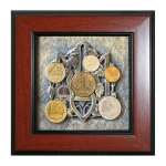 Подарок Сувенир Трезубец с монетами