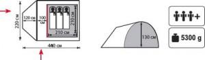фото Палатка Totem Carriage #2