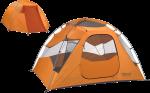 Палаткa Marmot Limestone 4P pale pumpkin/terra cotta