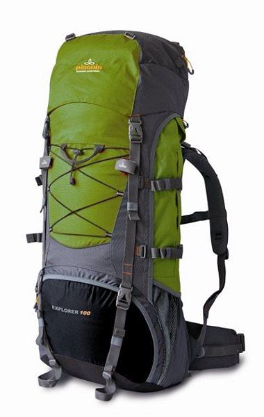 Купить Рюкзак Pinguin Explorer 100-new зеленый-серый
