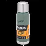 Термос Stanley Adventure (1 л) Зеленый (4823082713141)