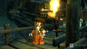 скриншот LEGO Pirates of the Caribbean PS3 #7
