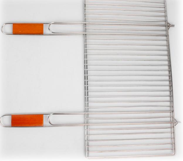 Купить Решетка-гриль Time Eco с двумя ручками 2017 (36 х 67 см)