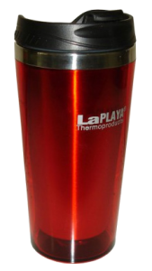 Термочашка LaPlaya Mercury красный