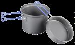 Котелок с крышкой-сковородой Tramp TRC-039 (0.9 л)