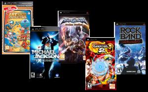 игра 5 в 1 PSP Bundle