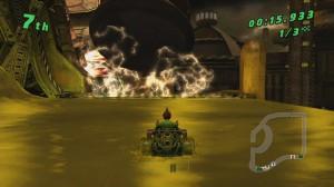 скриншот Ben 10: Galactic Racing PS Vita #6