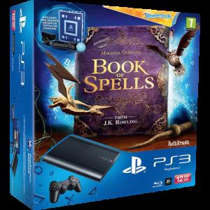 Приставка Sony Playstation 3 Super Slim Bundle (Камера, Move, Wonderbook 12Gb, CECH-4008A)