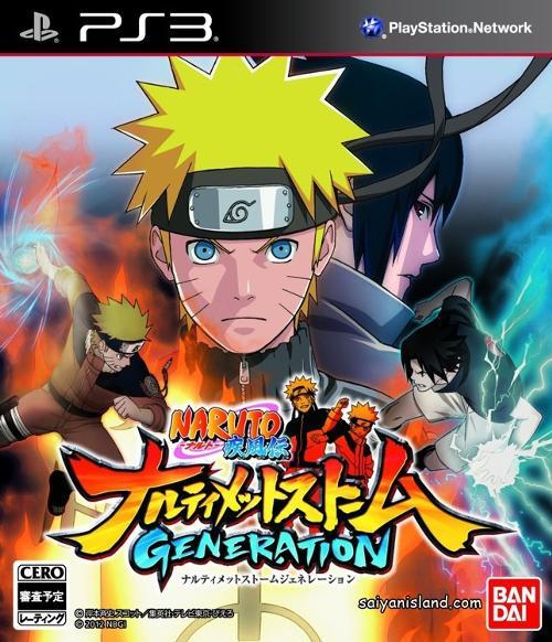 Купить Naruto Shippuden: Ultimate Ninja Storm Generations PS3, CyberConnect2