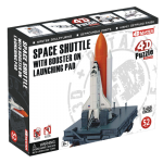 Объемный пазл 'Спейс Шаттл с ракетой-носителем на стартовой площадке'