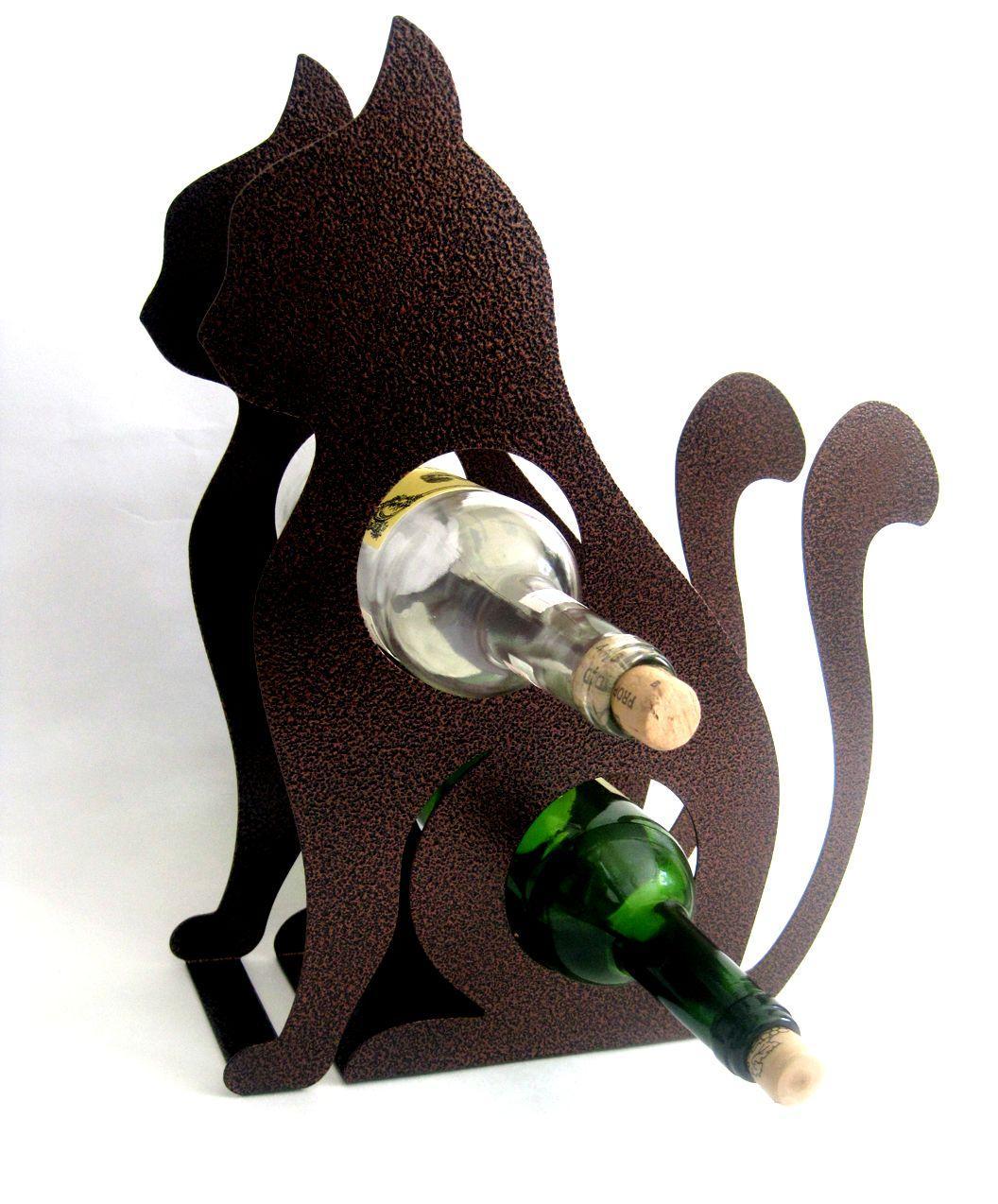 Купить Подставка для бутылки 'Кот'