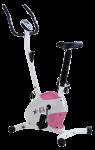 Велотренажер SS-370D (бело-розовый)