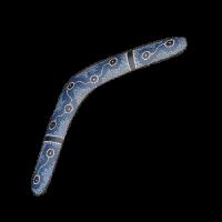 Бумеранг 'Синий', 50 см