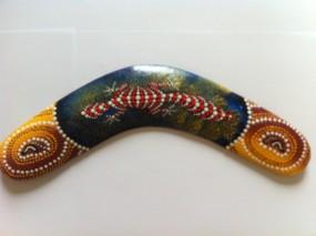 Бумеранг 'Ящерица', 30 см