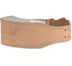 Пояс кожаный 'Mad Max MFB 246' (XXL) Beige