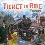 Настольная игра 'Билет для поездок: Европа' (новая версия)