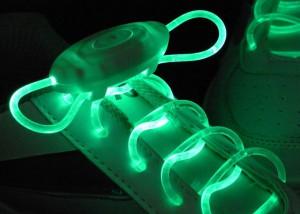 Подарок Светящиеся шнурки UFT Disco Blue