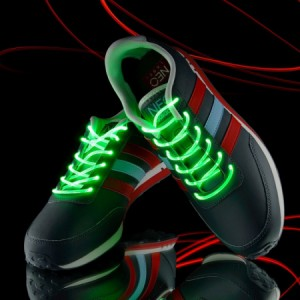 Подарок Светящиеся шнурки UFT Disco Green