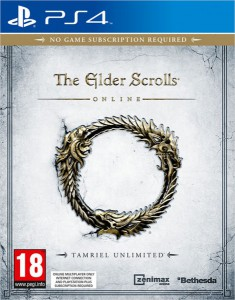 игра The Elder Scrolls Online PS4