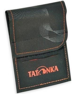 Купить Кошелек Tatonka HY Neck Wallet black/orange