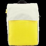 Подарок Рюкзак Upixel Fliplid (Бело-желтый)