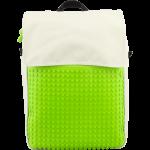 Подарок Рюкзак Upixel Fliplid (Бело-зеленый)