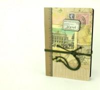 Подарок Винтажный блокнот 'Travel'