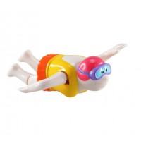 Пловец - игрушка с заводным механизмом