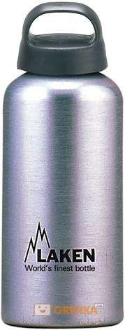 Фляга Laken Classic 0.6 L aluminium  - купить со скидкой