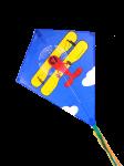 Воздушный змей Ромб Биплан