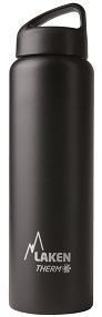 Купить Термофляга Laken Classic Thermo 1 L Black