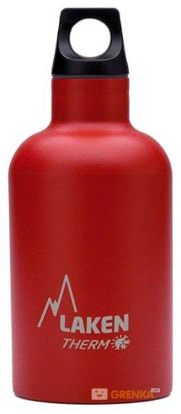 Термофляга Laken St. steel thermo bottle 0.35 L Red  - купить со скидкой