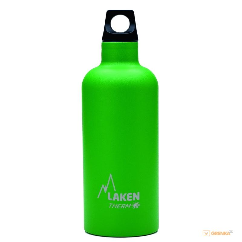 Купить Термофляга Laken St. steel thermo bottle 0.35 L Green