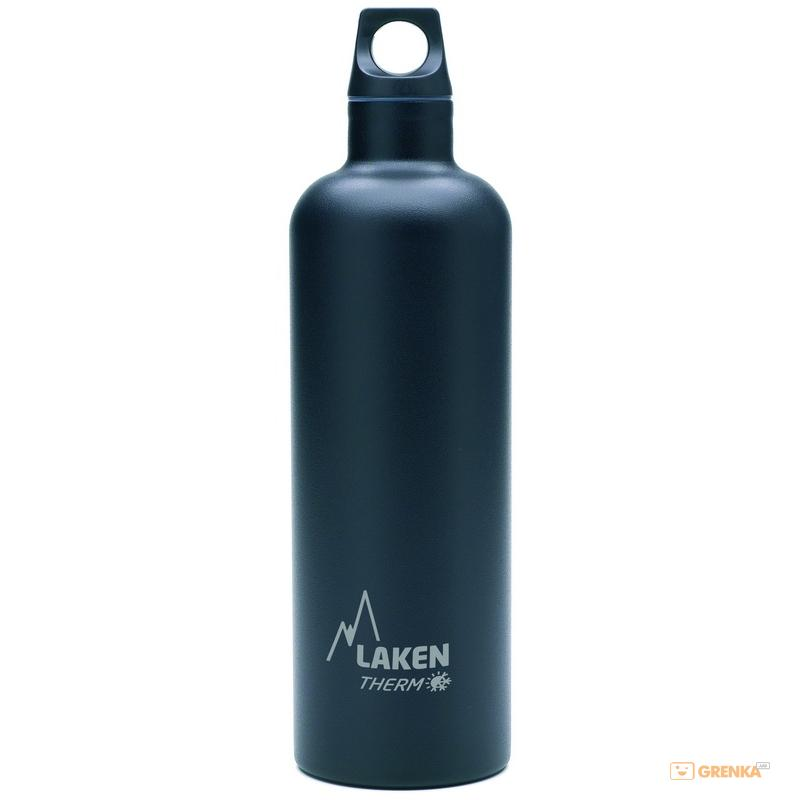 Купить Термофляга Laken St. steel thermo bottle 0.75 L Black