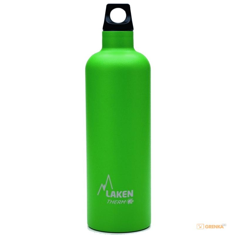 Купить Термофляга Laken St. steel thermo bottle 0.75 L Green