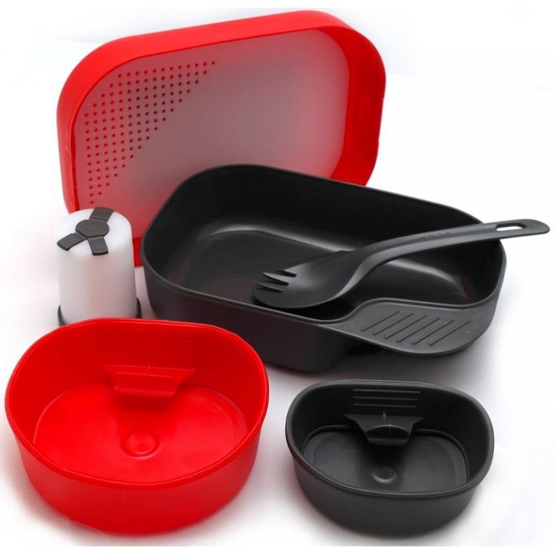 Купить Набор посуды Wildo Camp-A-Box Complete red