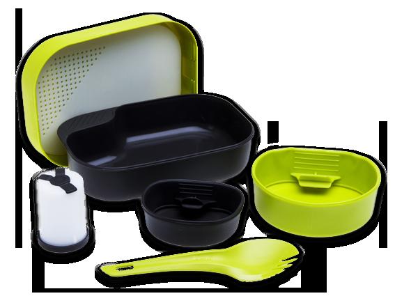 Купить Набор посуды Wildo Camp-A-Box Complete lime