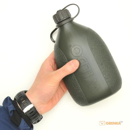 Купить Фляга Wildo Hiker Bottle (0, 7 л) olive green (4121)
